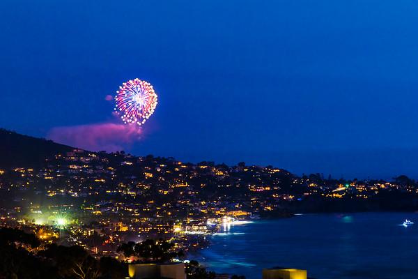 La Jolla Shores Fireworks #2