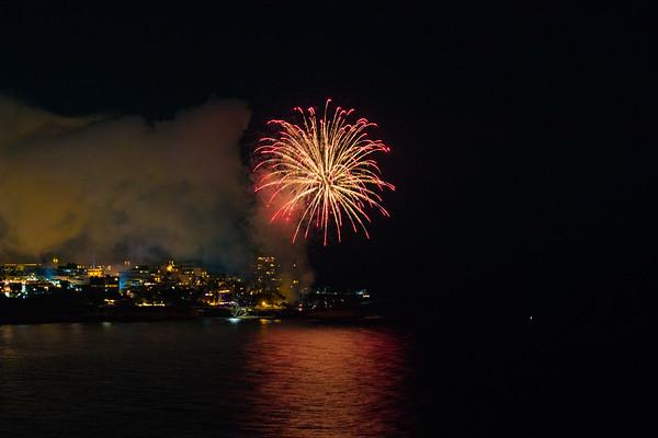 La Jolla Cove Fireworks #6