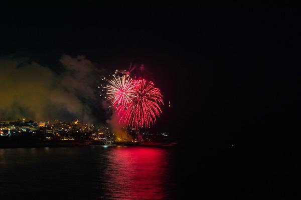 La Jolla Cove Fireworks #2