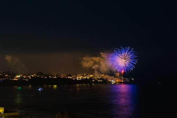 La Jolla Cove Fireworks #9