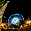 Ferris wheel from Centennial Olympic Park - Atlanta, Georgia - USA