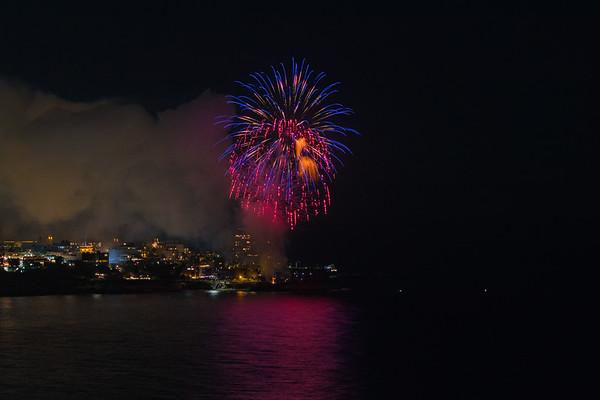 La Jolla Cove Fireworks #8