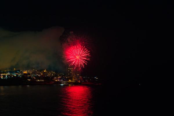 La Jolla Cove Fireworks #4