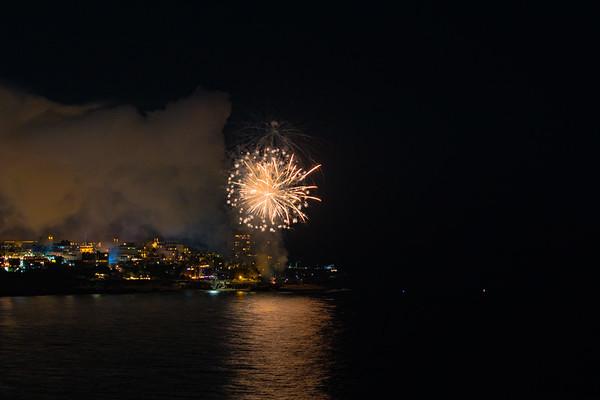 La Jolla Cove Fireworks #7