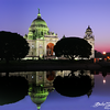 Victoria Memorial Hall at dusk - Kolkata, India - Dec 2013
