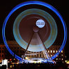 Grande roue sur la place Bellecour - Ferris wheel of Light Festival(Fête des Lumières) - Lyon, France