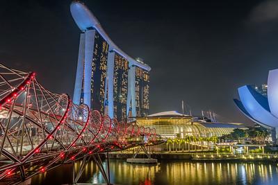 The Helix Bridge - Singapore