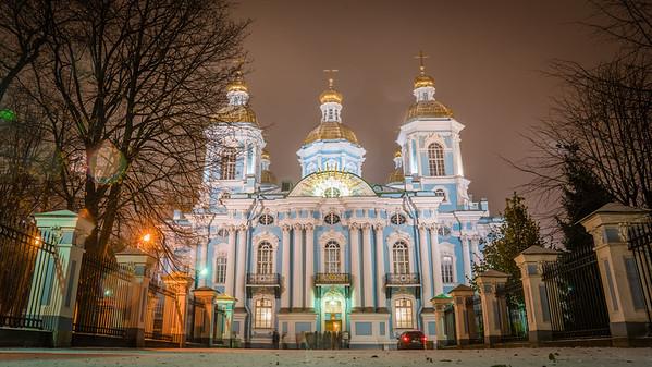 St. Nicholas Cathedral, St. Petersburg