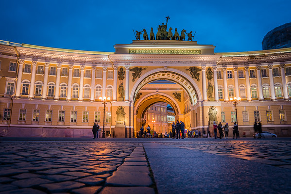 Arch of the General Staff, St. Petersburg