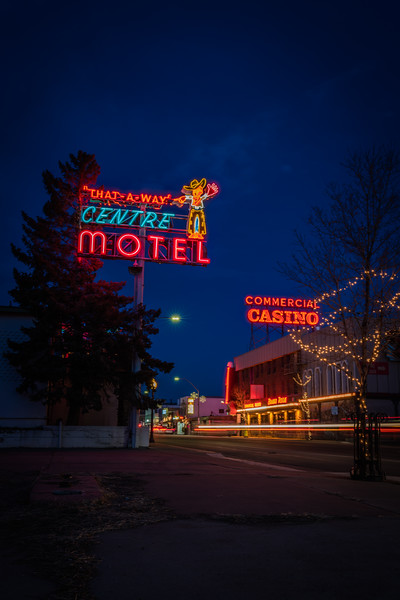 Elko Neon  - Nevada, USA