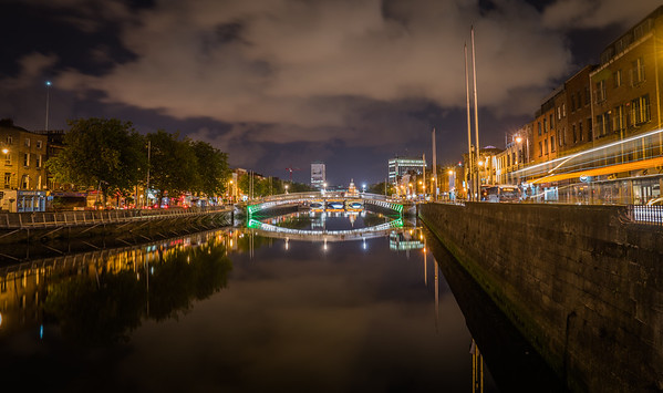 Ha'penny Bridge  - Dublin, Ireland