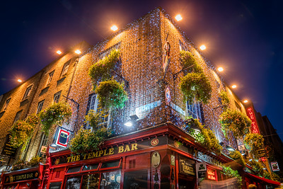 The Temple Bar - Dublin, Ireland