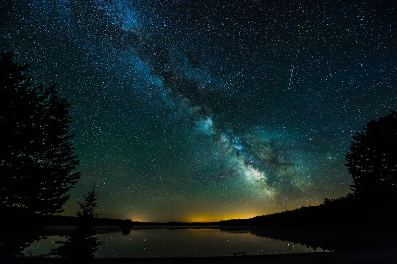 Milky Way over Clark Lake 01