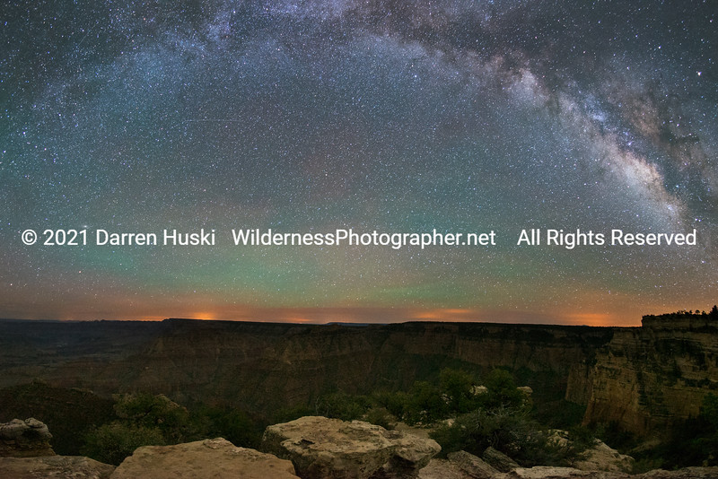 Arc of the Milky Way over the Grand Canyon