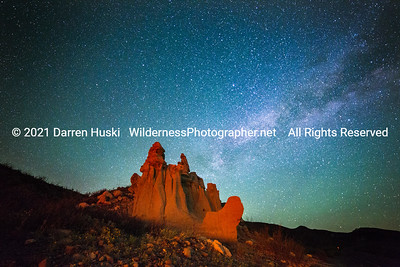 Hoodoos at Night