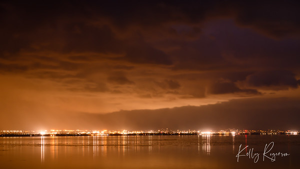 City Lights Across the Lake
