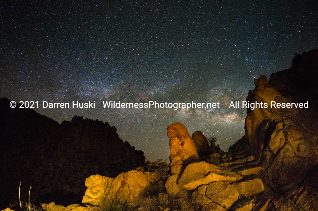 Grapevine Hills Night View