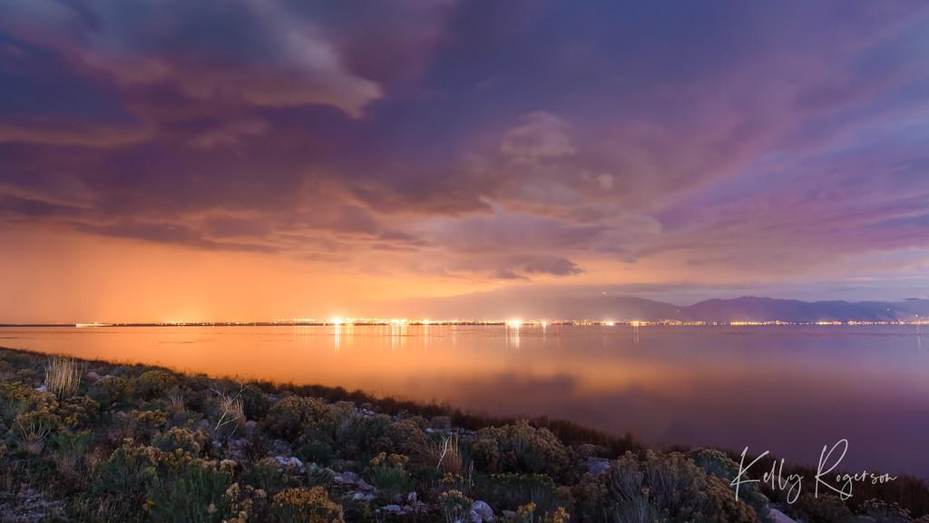 Antelope Island Skyline