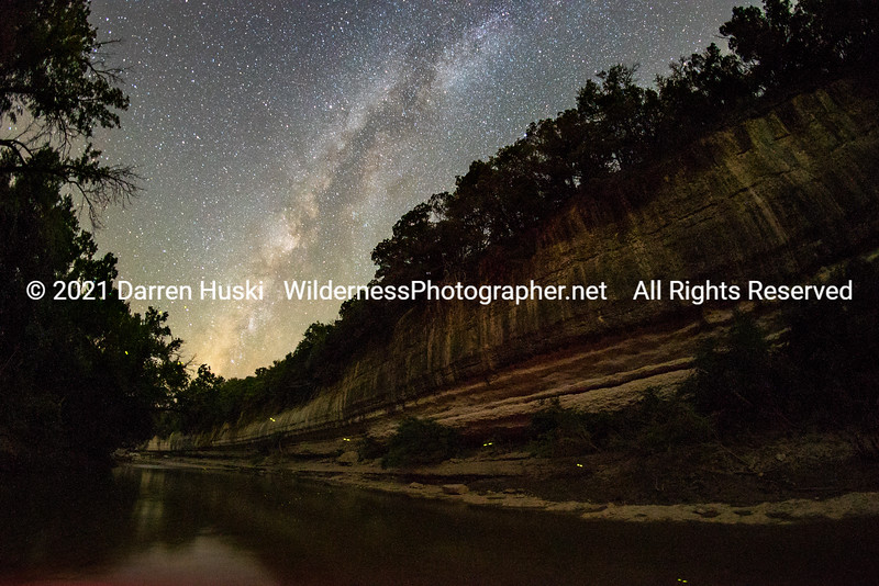 Fire Flies on the the Nolan River