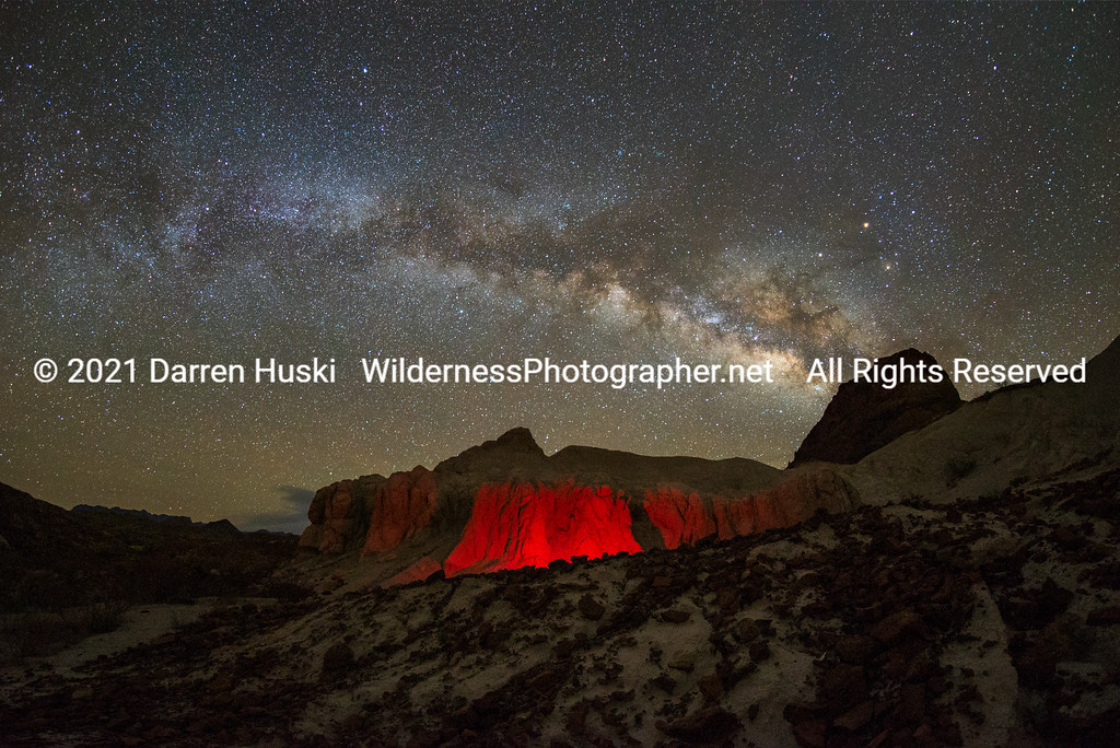 Volcano Country Nightscape from Big Bend