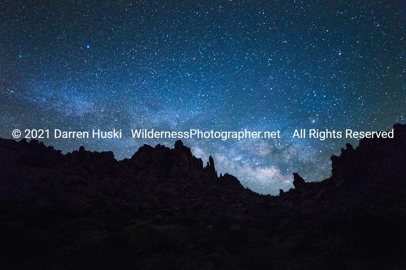 Milky Way over the Grapevine Hills