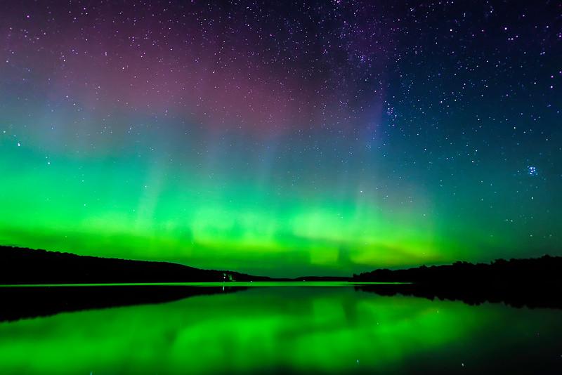 Aurora over Smokey Lake 05