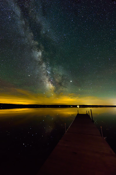 Milky Way over Big Sand Lake 02
