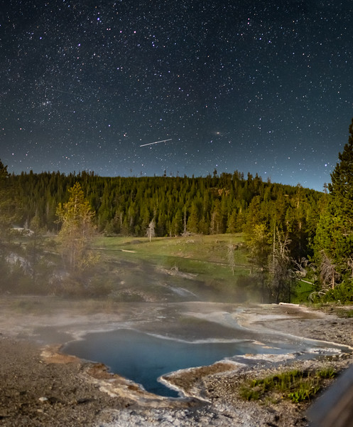Blue Star Spring // Yellowstone, WY