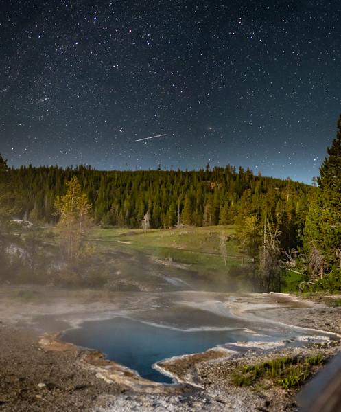 Blue Star Spring // Yellowstone, WY