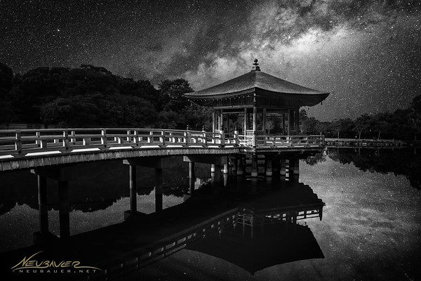 Pagodas, shrines and monasteries are everywhere in Japan and this little lake in Nara was no exception. I loved sitting on the shores of this lake and watching as the people passed by, some dressed in traditional Japanese garb and some looking more modern. I sat here into the night and was treated to an ethereal display of brilliance when the Milky Way rose above the trees.