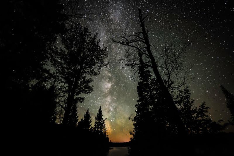 Milky Way over Sun Lake 01