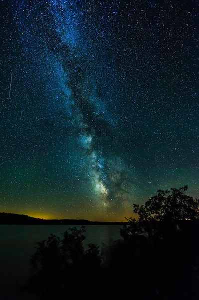 Milky Way over Butternut Lake 01