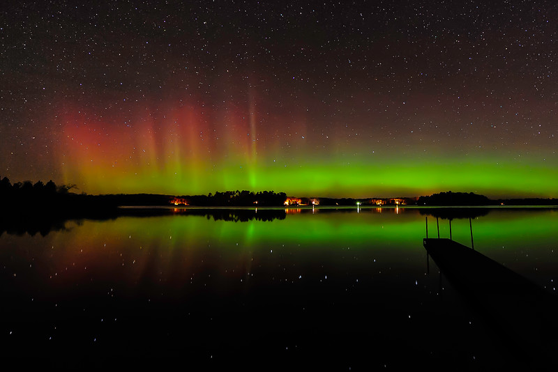 Aurora over Pioneer Lake 07