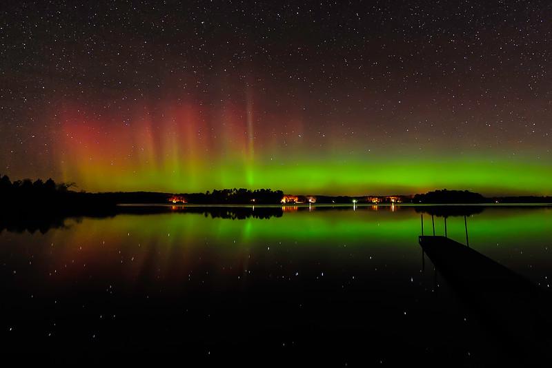 Aurora over Pioneer Lake 07