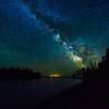 Milky Way over Ellingson Island 01