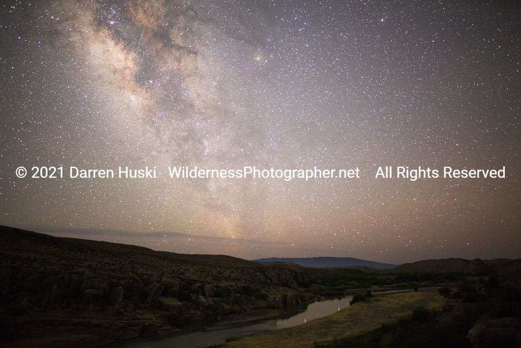 Night Sky over the Rio Grande