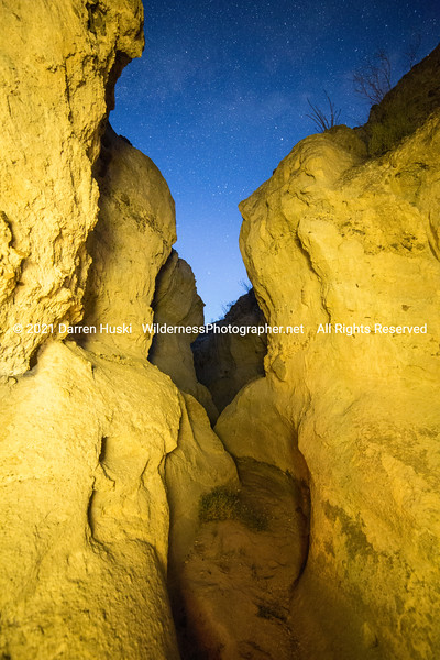 Night in a Secret Canyon