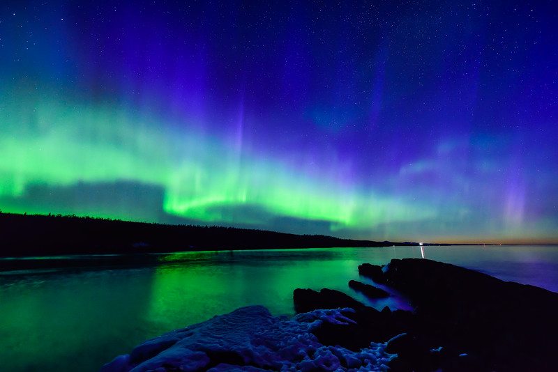 Aurora over Minnesota's North Shore 05