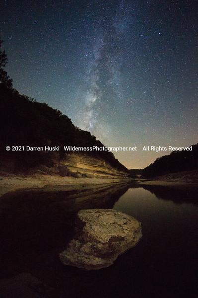 Nolan River by Night