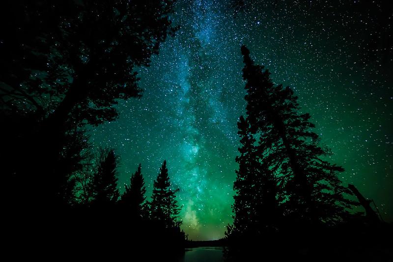 Milky Way over Sun Lake 02