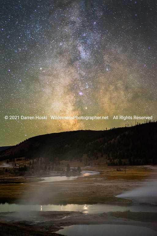 Firehole River by Night