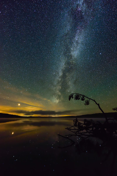 Milky Way over Lake Ottawa 06
