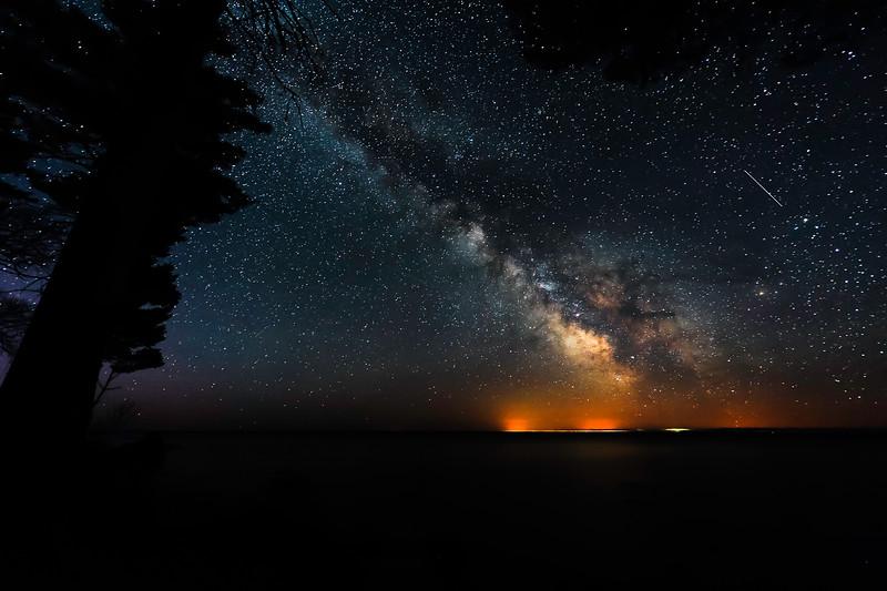 Milky Way over Keweenaw Bay 01