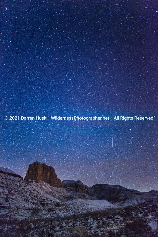 El Cap Winter Night