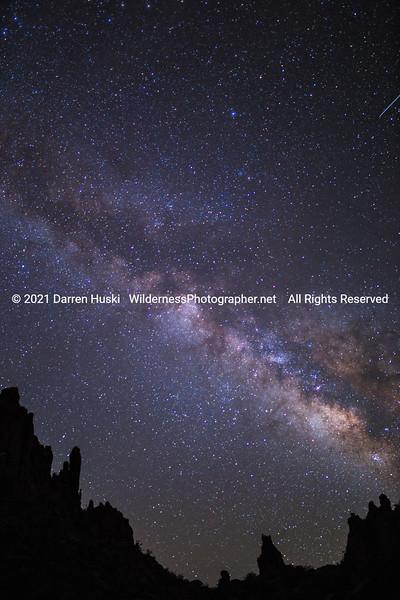 Pinnacles and Milky Way