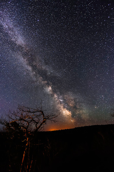 Milky Way at Brockway Mountain Overlook 02