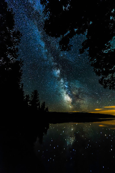 Milky Way over Lake Ottawa 03