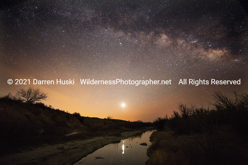 Pecos River and Milky Way
