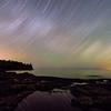 Star Trails over Split Rock Lighthouse 01