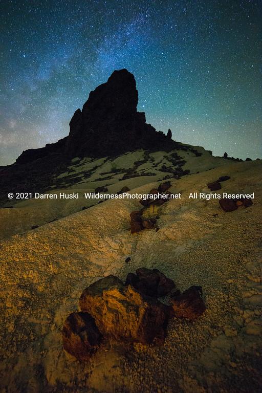 Volcano Nightscape